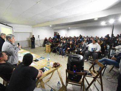 Luz y Fuerza busca una salida a la crisis económica y financiera de cooperativa de Mar de Ajo