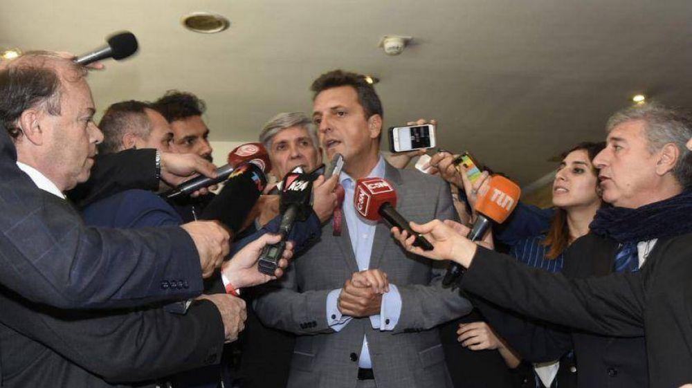 Reapareció Massa y le pidió a Macri que convoque a los gobernadores
