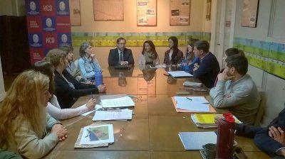 Comisión de Medio Ambiente trató la cuestión de la arena y el Enduropale