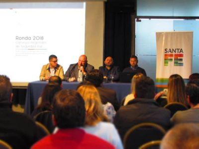 Santa Fe: Ronda de Consejos Regionales de Seguridad Vial