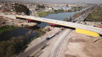 La semana próxima inauguran un nuevo puente para cruzar el Riachuelo