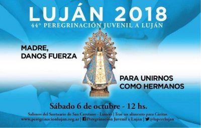 Se acerca la 44° Peregrinación juvenil a pie a Luján