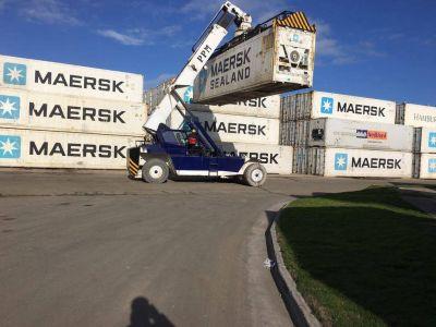 Se exportaron más de 80 mil toneladas por el puerto local en los primeros 8 meses del año