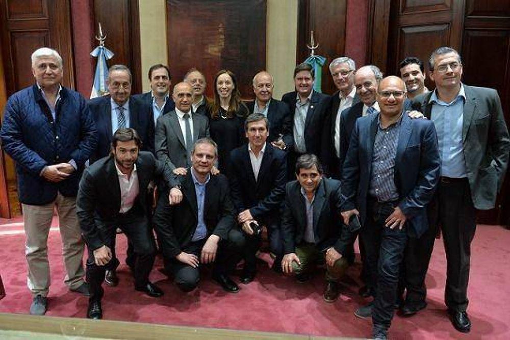 Intendentes de la Quinta Sección se reunieron a solas con Vidal