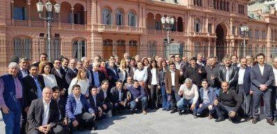 Verónica Magario, y una intensa agenda sindical