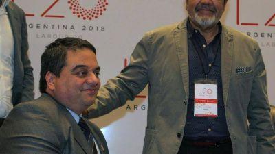 El sindicalista Gerardo Martínez ratificó que el paro de la CGT será el martes 25