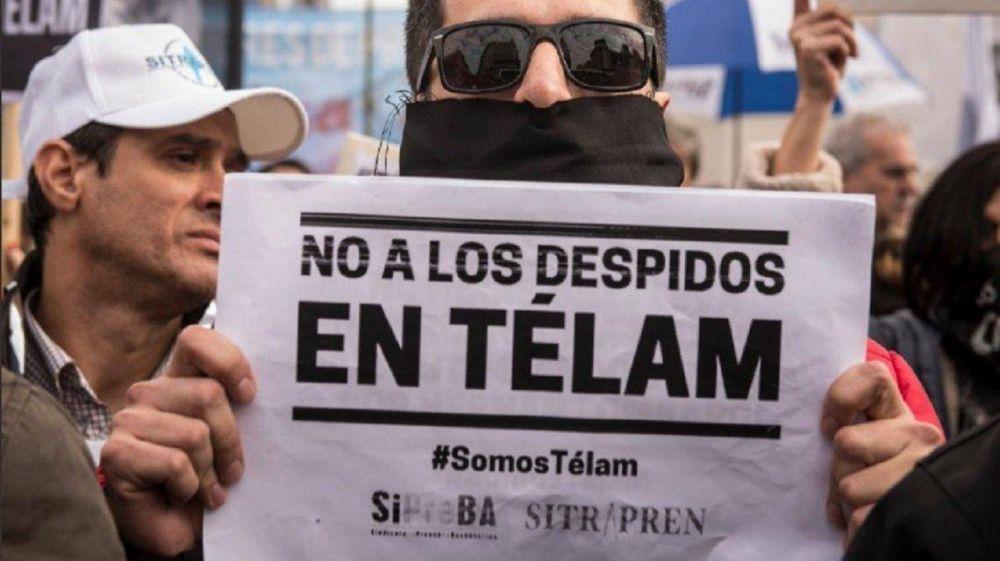 Despidos en Télam: la Justicia solicitó la reincorporación de 12 trabajadores