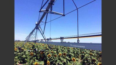 Nace un sistema de riego con paneles solares que aplica insumos según la necesidad del suelo