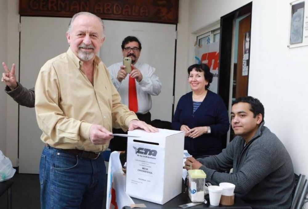 Elecciones en la CTA: triunfa Yasky y se agranda el perfil kirchnerista del sindicalismo