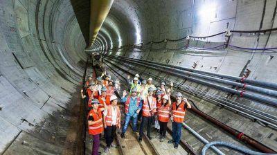 En cinco años, habrá 66 km más de túneles en la Ciudad