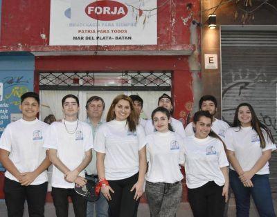 """Juventud Forja Mar del Plata- Batán: """"Los jóvenes no son el futuro, sino el presente"""""""