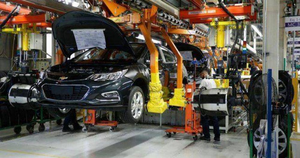 General Motors suspenderá 1500 operarios hasta febrero de 2019