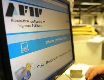 Este lunes, apagón informático y protestas en la AFIP