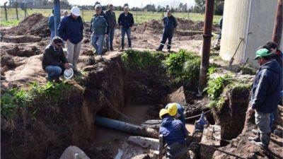 Destacan desde la Comuna la importancia sanitaria de mejorar el abastecimiento de agua