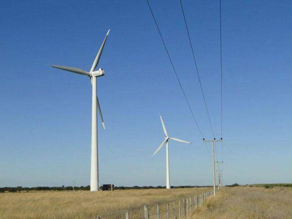 Vuelve a funcionar el parque eólico en Acha