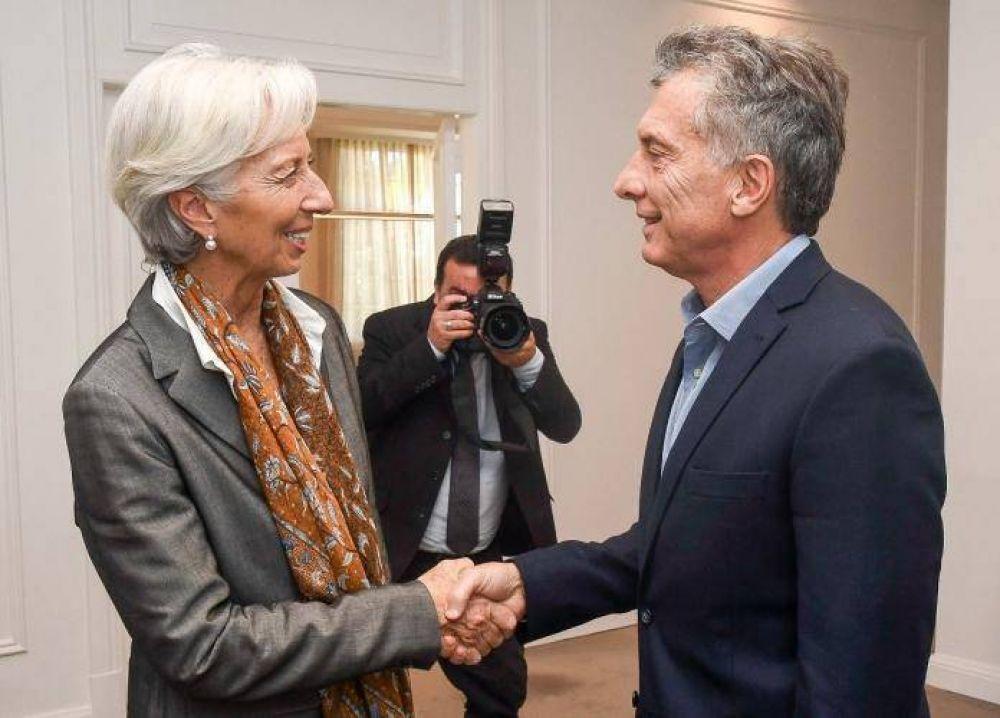Reformas serias, claridad y transparencia: apura Lagarde a Macri y condiciona el adelanto de fondos