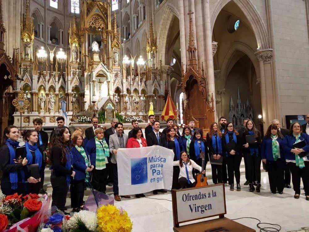 Se realizó Música para la Paz en Luján