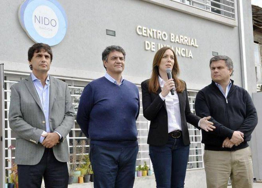 María Eugenia Vidal anunció importantes mejoras en los Programas Sociales