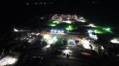 Fortín de Piedra es el principal productor de gas del país