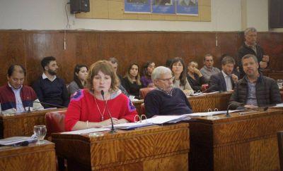 La sesión del Concejo Deliberante terminó con escándalo