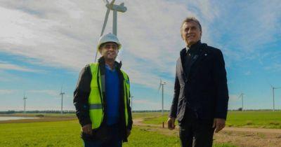 Macri recorrerá un parque eólico en el sur de Córdoba