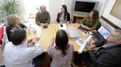 Presentaron el proyecto productivo de la Meseta Intermedia en Rawson