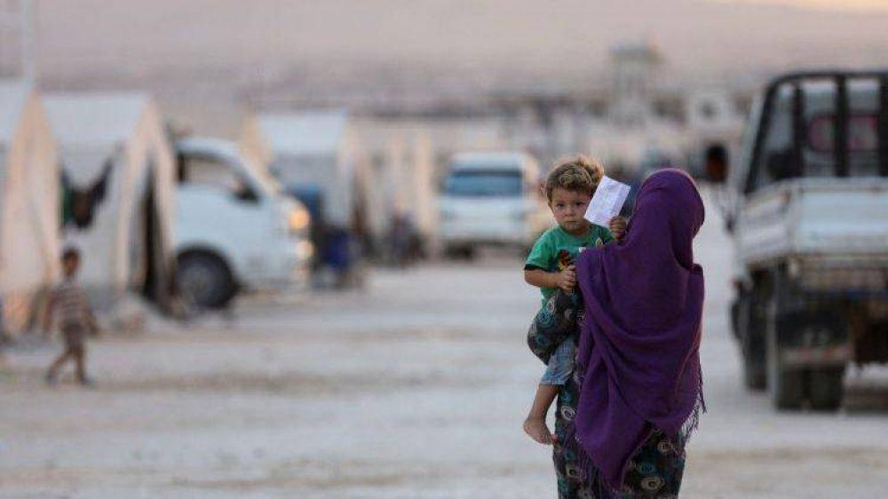 Papa: comunidad internacional no olvide víctimas de la crisis humanitaria en Siria e Irak