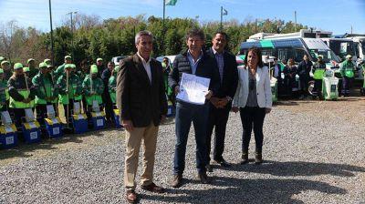El sistema de higiene urbana de San Isidro recibió la Recertificación ISO 9001
