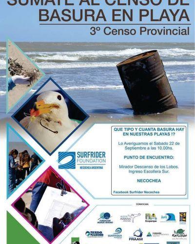 Tercer Censo Provincial de Basura de Playa