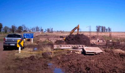 Uruguay construye cuatro puentes en ruta 30
