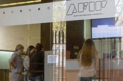 Incidentes en una movilización convocada por empleados de la AFIP