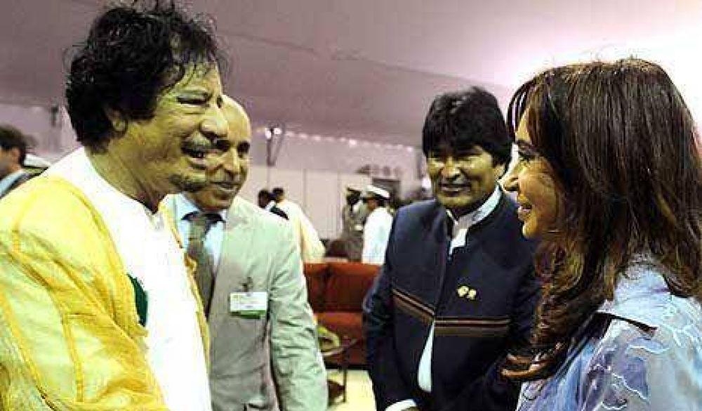 CFK pidió relaciones de cooperación entre todos los pueblos del mundo