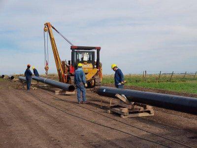 Camuzzi confirma importante avance en las obras del Gasoducto Barker – Necochea