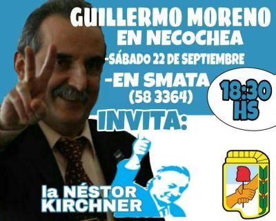 Guillermo Moreno, nuevamente en Necochea