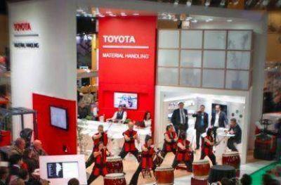 Toyota se enfoca en la eficiencia en Expologísti-k 2018