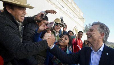 Macri llega a Salta para inaugurar una obra hídrica