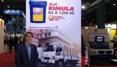 Shell presentó un nuevo lubricante de uso intensivo