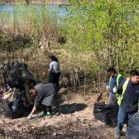 Sacaron diez mil kilos de basura del río Limay en Neuquén