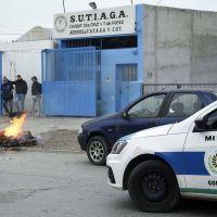 Integrantes de la lista Verde de SUTIAGA se manifestaron en las puertas del sindicato