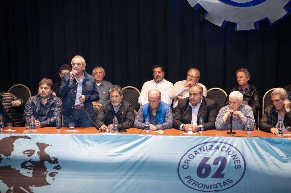 La CGT presentó sus 62 Organizaciones Peronistas y pide pista para 2019