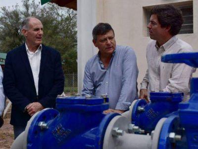 Se inauguraron en Capitán Solari obras cloacales que demandaron una inversión de más de $ 50 millones