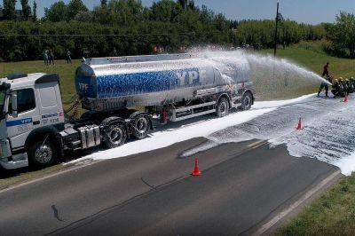 YPF realizará un simulacro de accidente en Ushuaia para poner en práctica el Plan de Emergencia Externas de Transporte