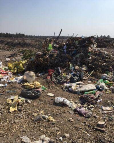 Polémica por la escombrera de San Martín junto al río Mendoza