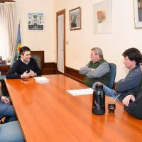 El Intendente atendió inquietudes de Bomberos Voluntarios de La Dulce