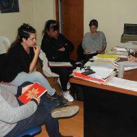 Mesa de diálogo con los cuatro movimientos sociales