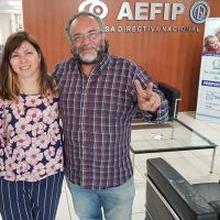 Roberto Gómez se reunió con la funcionaria Silvina Batakis