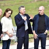 Macri se mostró con Vidal y Larreta para disipar rumores: