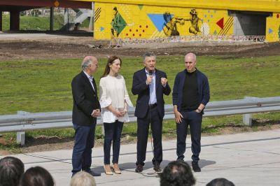 Macri, Vidal y Larreta, en una imagen para mostrar que no hay peleas internas
