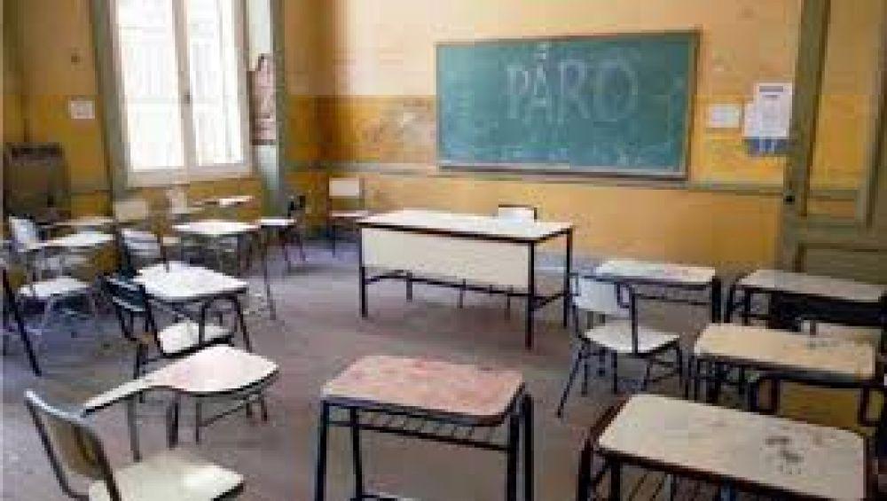 El lunes y el martes habrá paro docente en provincia y Capital