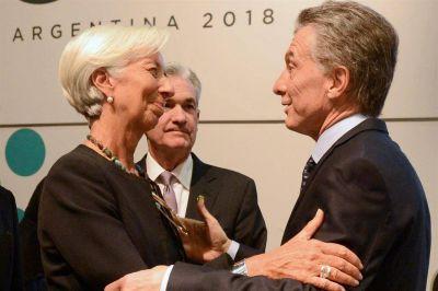 El FMI apoyó el presupuesto y podría haber un encuentro entre Macri y Lagarde